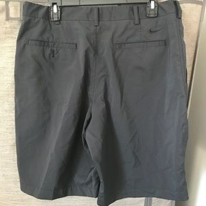 705f1a20a84313 Nike Shorts - Nike Golf men s black flat front shorts sz 34 Med